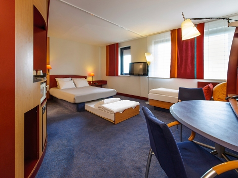 Suite Novotel Berlin Potsdamer Platz
